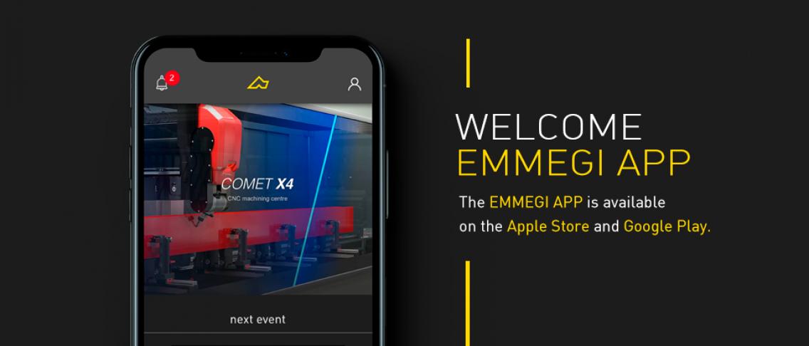 Welcome Emmegi App