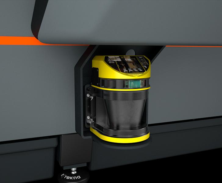 TKE 954 Laser scanner Tekna