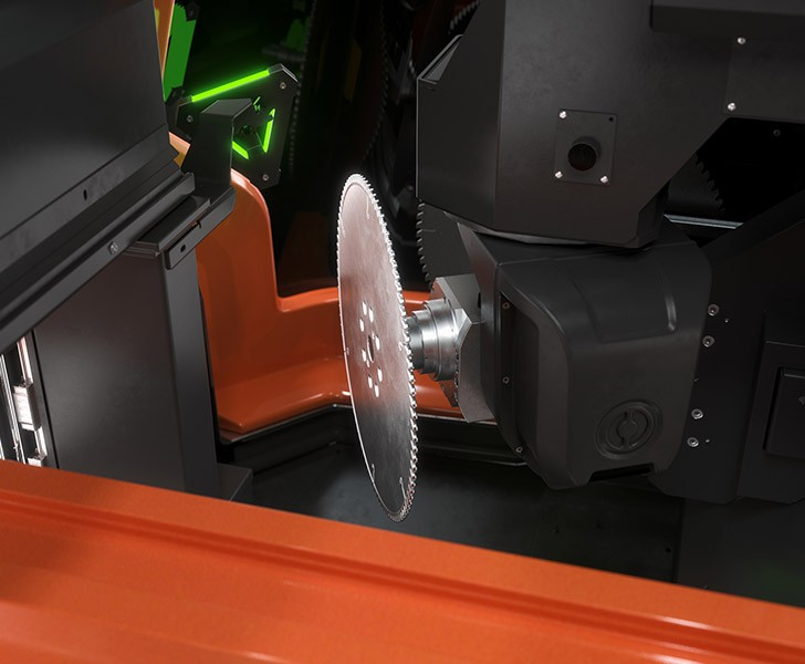 Machining Centrers TKE 955 Electric head Tekna