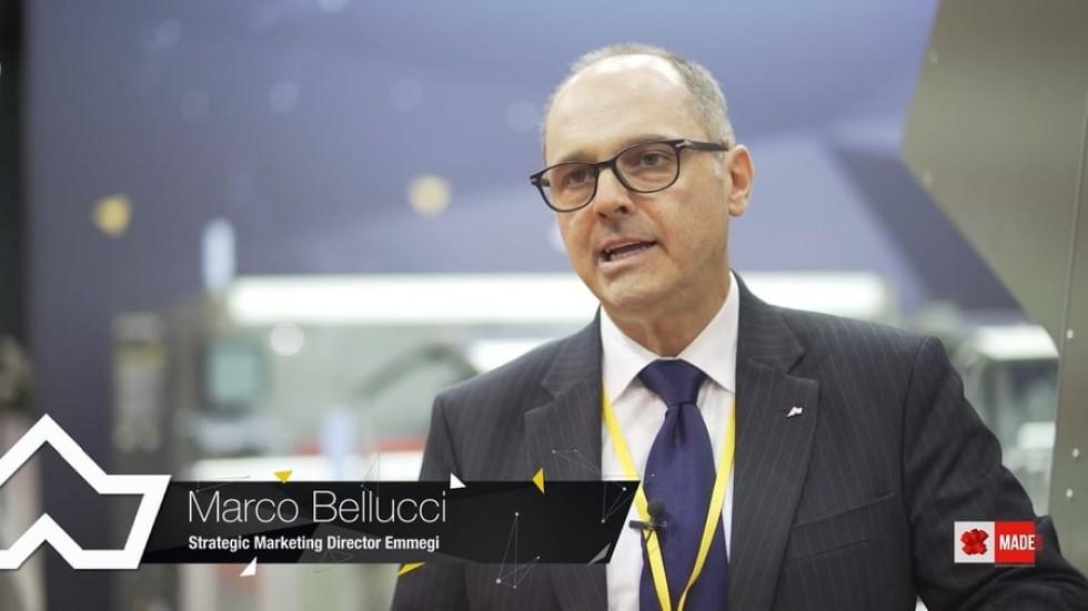 Emmegi e il Made come fiera Internazionale (Marco Bellucci)  Tekna